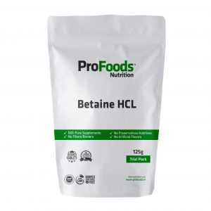 Betaine HCL Powder & Supplements