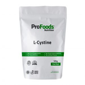 L Cystine Powder 125g Front