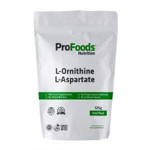 L Ornithine L Aspartate Powder 125g Front