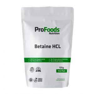 Betaine HCL Powder & Supplements