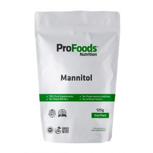Mannitol Powder 125g Front
